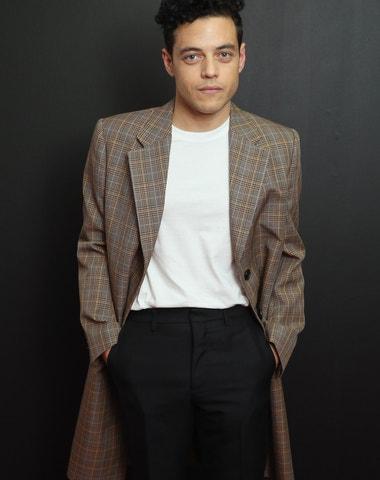 Rami Malek, mistr smart casual stylu