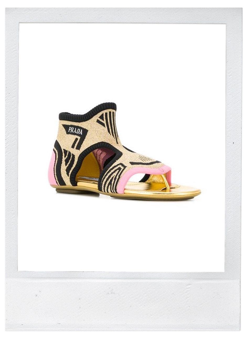 Sandále, Prada, prodává Farfetch, 683 €