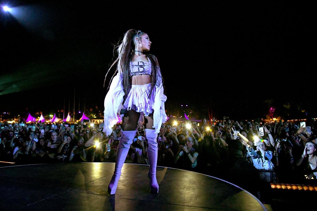 Ariana Grande na festivalu Coachella