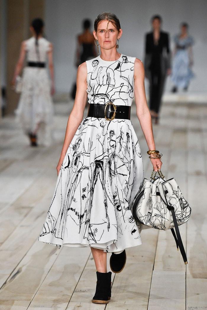 Alexander McQueen, Paris Fashion Week SS 2020