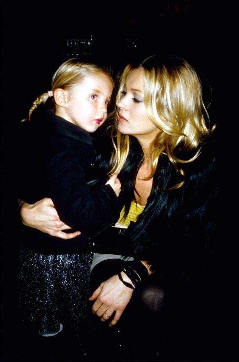 Lila a Kate v Londýně, prosinec 2006