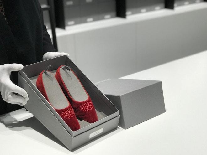 Každý pár bot má vlastní krabici na míru