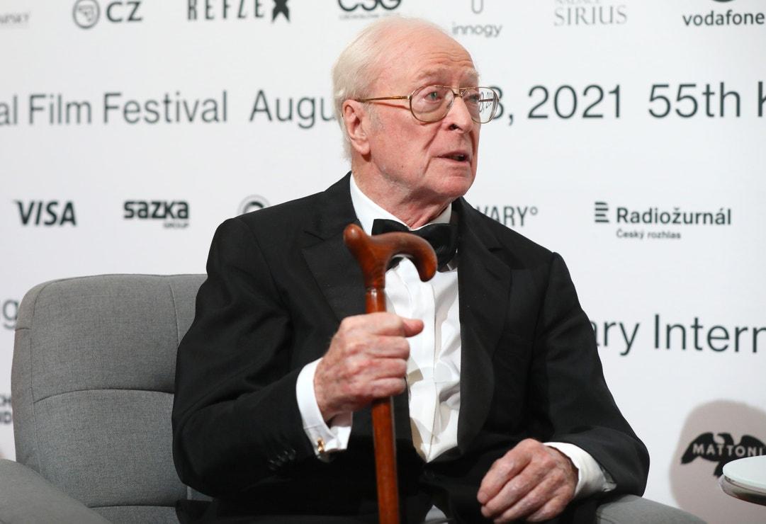 Michael Caine na 55. ročníku Mezinárodního filmového festivalu Karlovy Vary