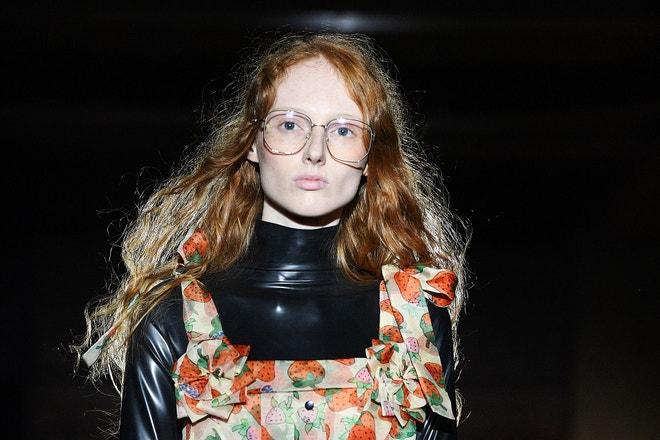 Gucci, přehlídka kolekce SS19, Paris Fashion Week, září 2018, Paříž