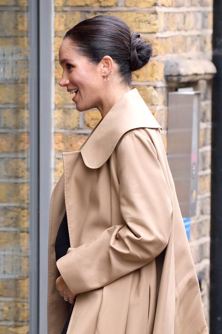 Meghan, vévodkyně ze Sussexu, Smart Works, Londýn, leden 2019