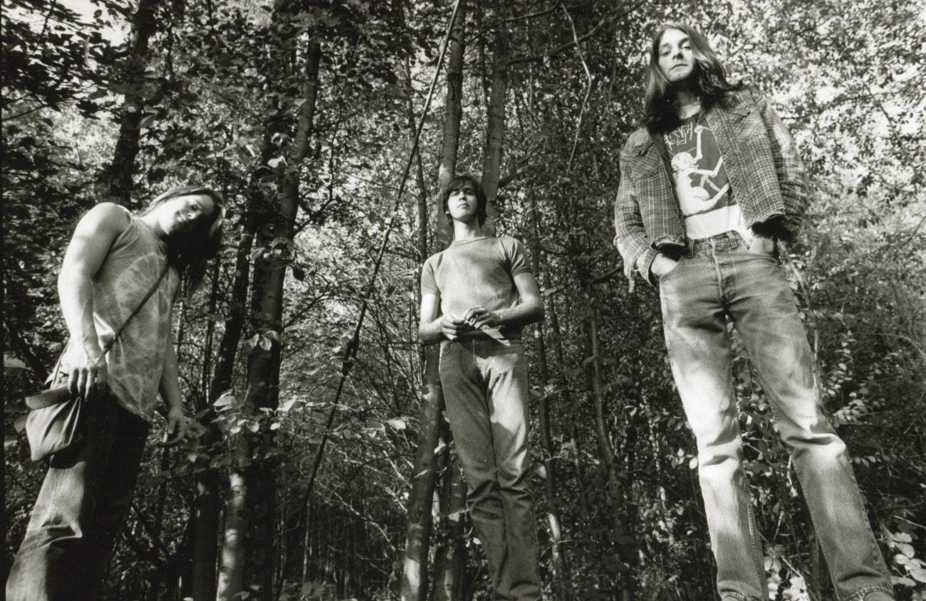 Portrét skupiny Nirvana, cca 1990