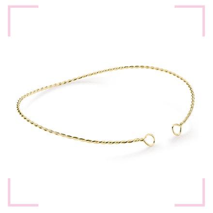 Muselet Necklace, Stříbrný, pozlacený náhrdelník dle návrhu designérky Anny Marešové z kolekce Champagne, MOOYYY, prodává MOOYYY, 2 900 Kč