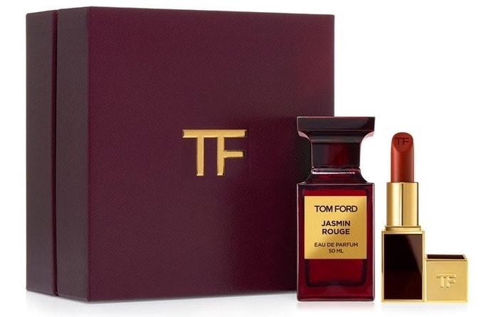 Dárková sada s parfémem Jasmin Rouge a červenou rtěnkou, Tom Ford (prodává Douglas), 5656 Kč