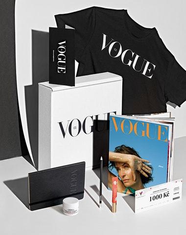 Odkrýváme dárkový box k předplatnému Vogue CS