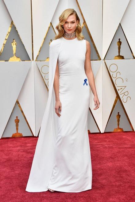 Karlie Kloss na předávání Oscarů 2017