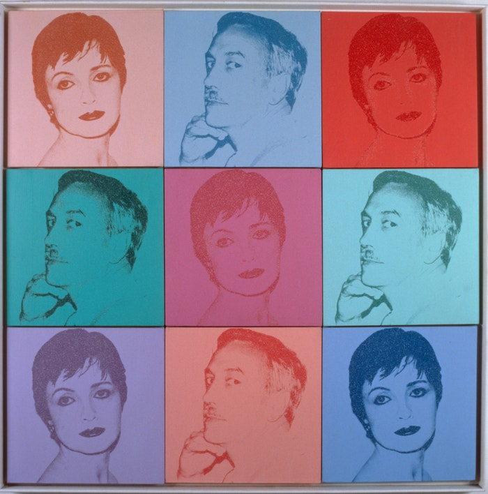 Andy Warhol, Portraits, 1980
