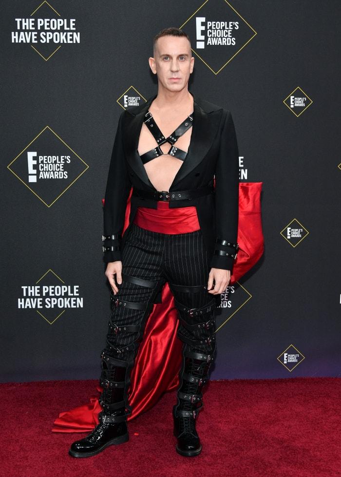 Jeremy Scott na E! People's Choice Awards 2019 Autor: Amy Sussman/E! Entertainment/NBCU Photo Bank