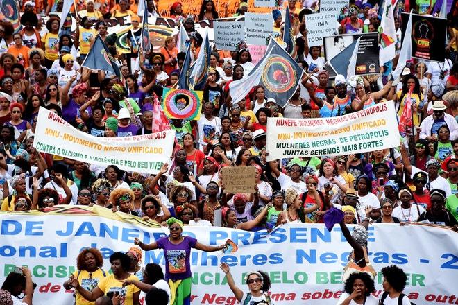 International Women's Day March, 2015