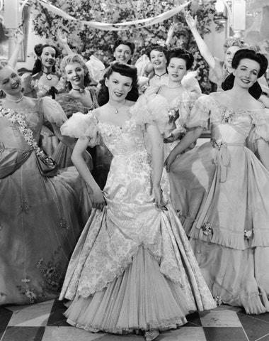 Nejkrásnější filmové kostýmy Judy Garland