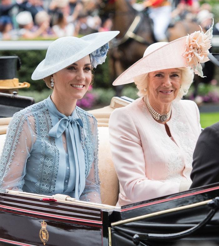 Catherine, vévodkyně z Cambridge a Camilla, vévodkyně z Cornwallu Autor: Samir Hussein/Getty Images