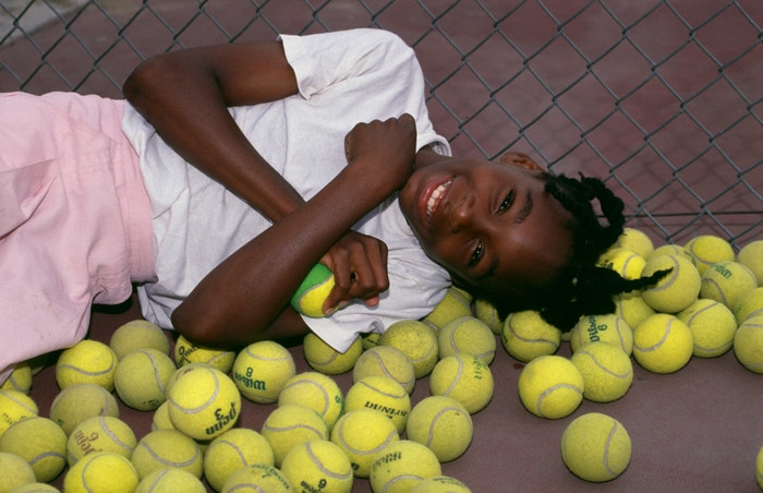 Venus Williams v roce 1990