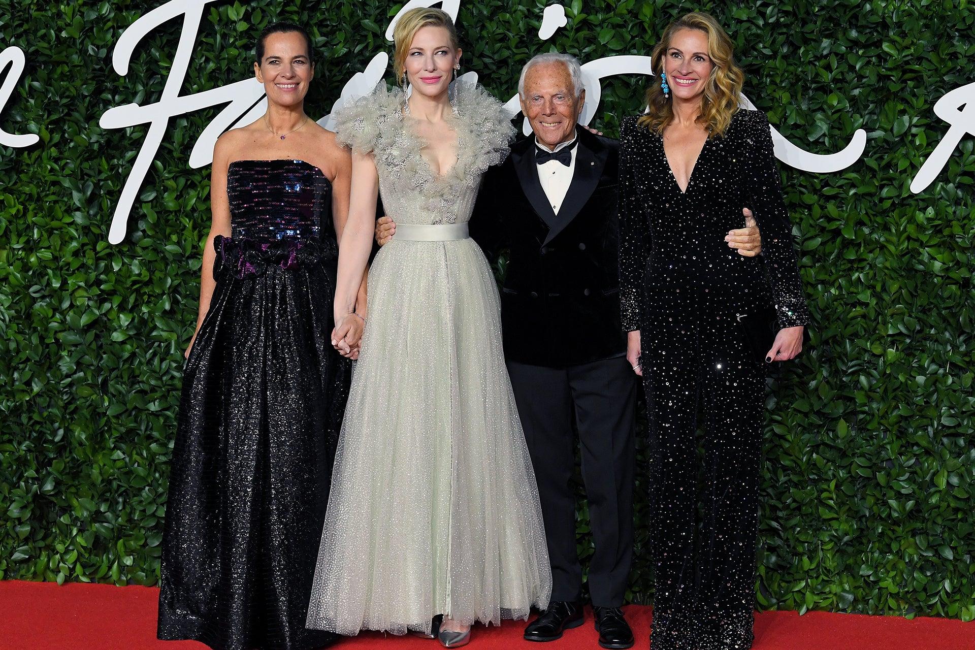 Roberta Armani, Cate Blanchett, Giorgio Armani a Julia Roberts Autor: Shutterstock
