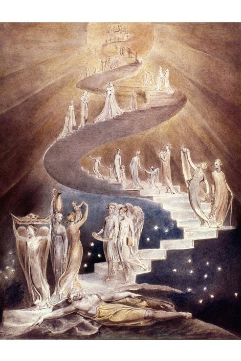 Dante, Božská komedie, ilustrace William Blake