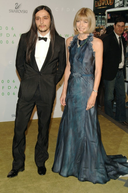 Olivier Theyskens a Anna Wintour na předávání cen CFDA Awards 2006