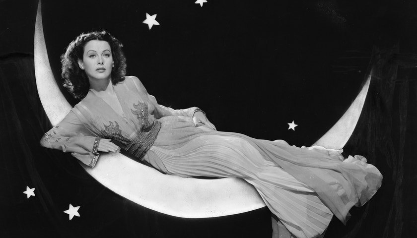 Podmanivá a talentovaná Hedy Lamarr