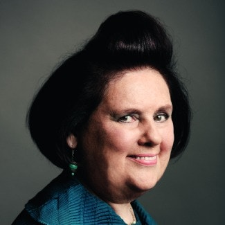 Suzy Menkes,  Editor, Vogue International