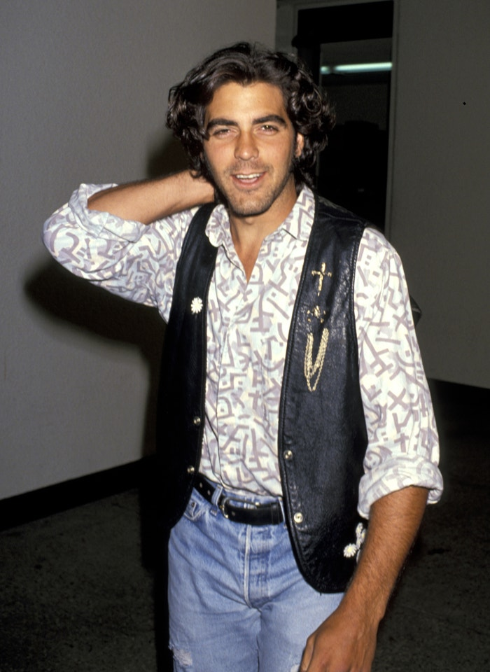 George Clooney, 1989 Autor: Jim Smeal/Ron Galella Collection via Getty Images