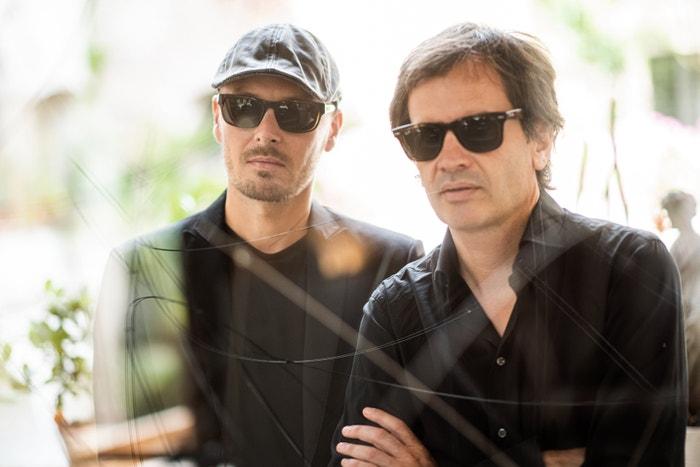 Multiinstrumentalista Jan Kleník a zpěvák Prokop Svoboda, zakladatelé kapely Lab on Fire
