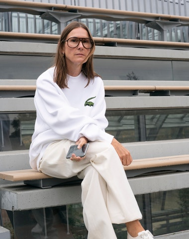Checking in with Louise Trotter of Lacoste
