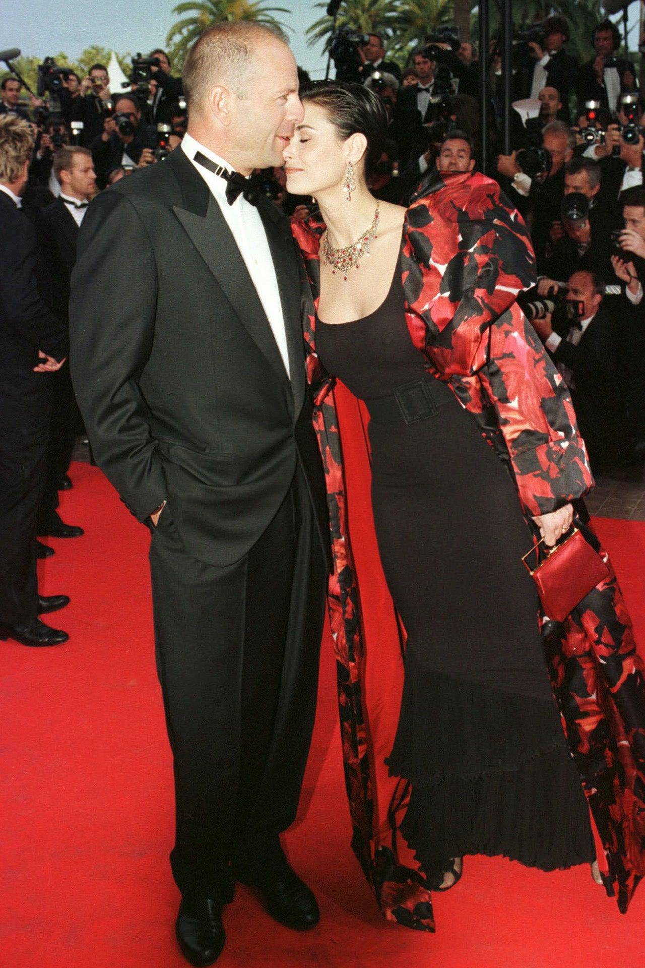 Cannes 1997, Bruce Willis a Demi Moore Autor: REMY DE LA MAUVINIERE/AP/REX/Shutterstock