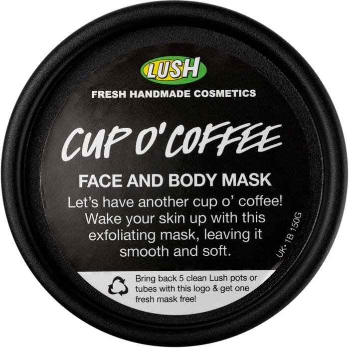 Maska Cup O'Coffee, Lush, 100 ml za 285 Kč