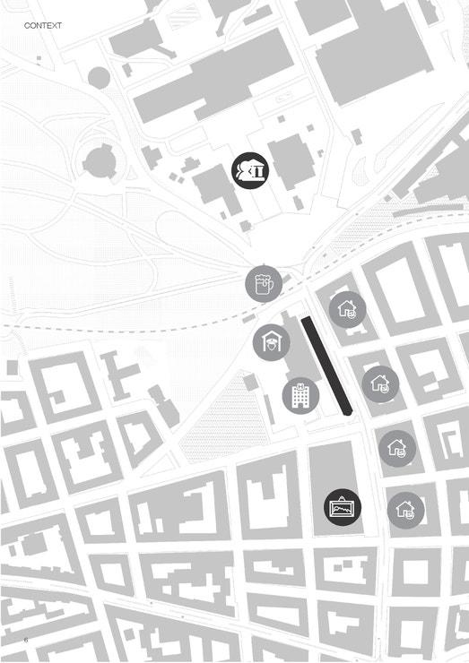 Lokalita na rohu ulic Veletržní a Dukelských hrdinů