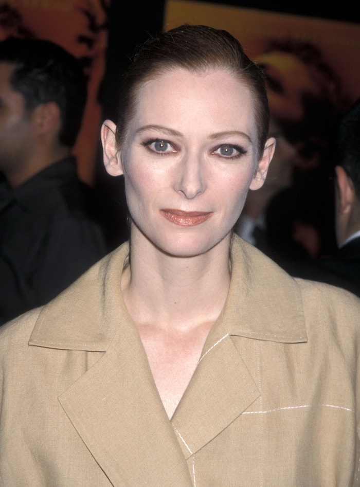 Tilda Swinton na premiéře filmu Pláž, 2000 Autor: Ron Galella/Ron Galella Collection via Getty Images
