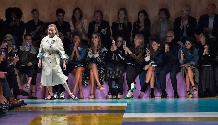 Miuccia Prada: top fashion momenty