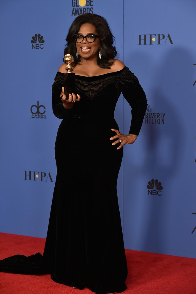 Oprah Winfrey, 75th Annual Golden Globe Awards (2018)