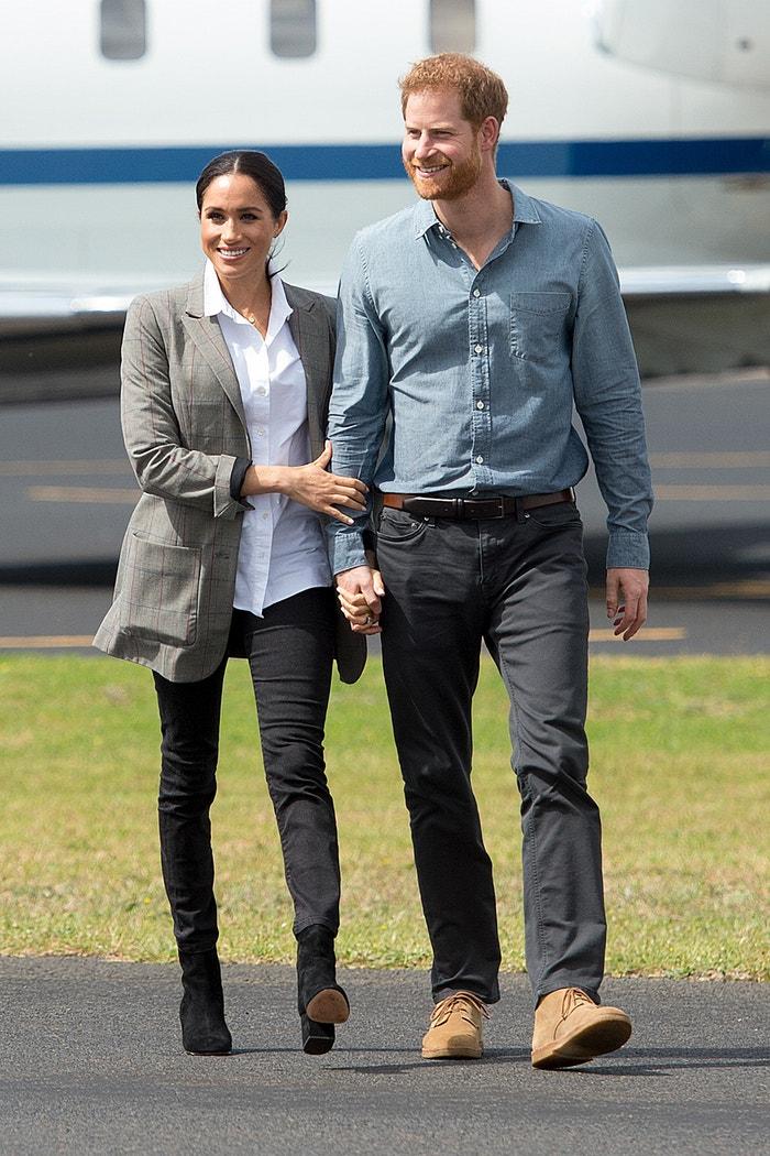 Princ Harry, vévoda ze Sussexu, a Meghan, vévodkyně ze Sussexu, na návštěvě Austrálie, říjen 2018 Autor: Pool/Samir Hussein/WireImage/Getty Images