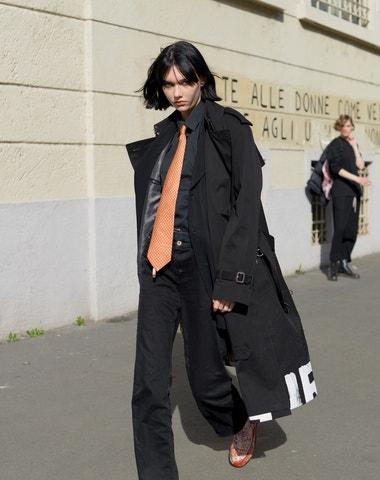Pravdivý street style z milánského fashion weeku