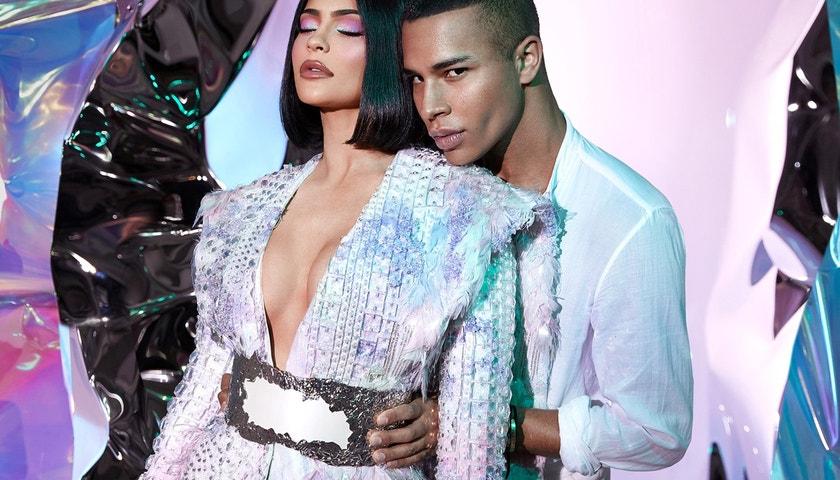 Olivier Rousteing exkluzivně o fashion art pro Kylie Jenner, pohádkách a proč je nutné krásu vnímat jinak