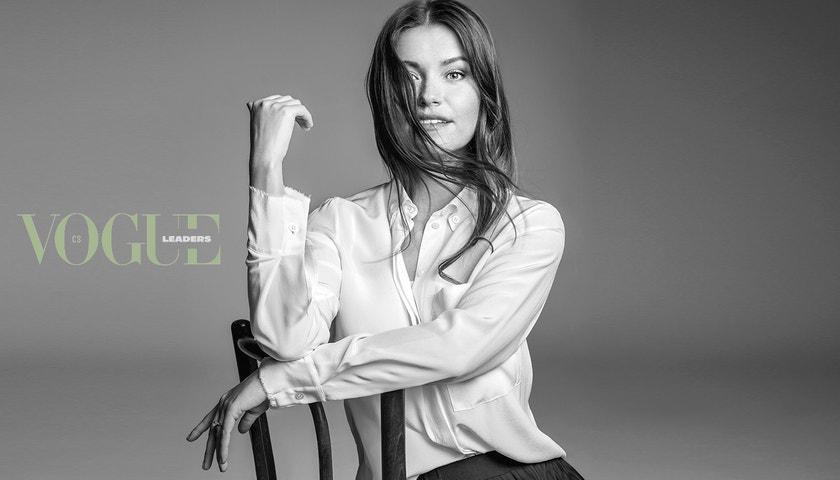 Michaela Seewald představuje první číslo tištěného vydání Vogue Leaders
