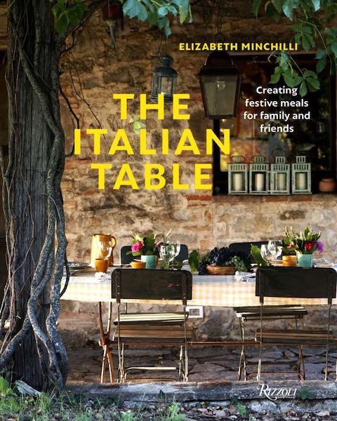 Kuchařka The Italian Table od Elizabeth Minchilli, prodává Neoluxor, 944 Kč