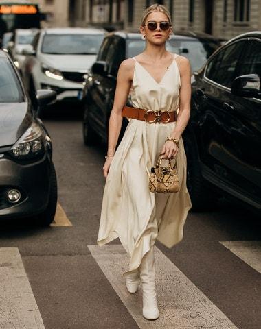 Brown is the new black. Nejlepší street style z milánského fashion weeku