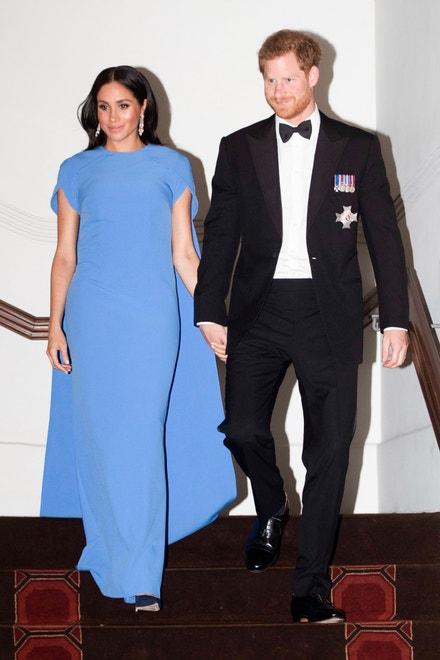 Princ Harry, vévoda ze Sussexu, a Meghan, vévodkyně ze Sussexu, na návštěvě Fidži, říjen 2018