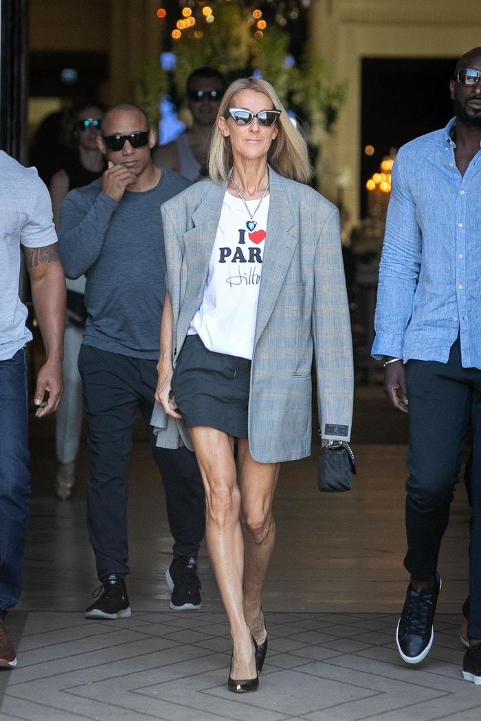 Céline Dion v modelu Vetements Autor: Marc Piasecki (Getty Images)