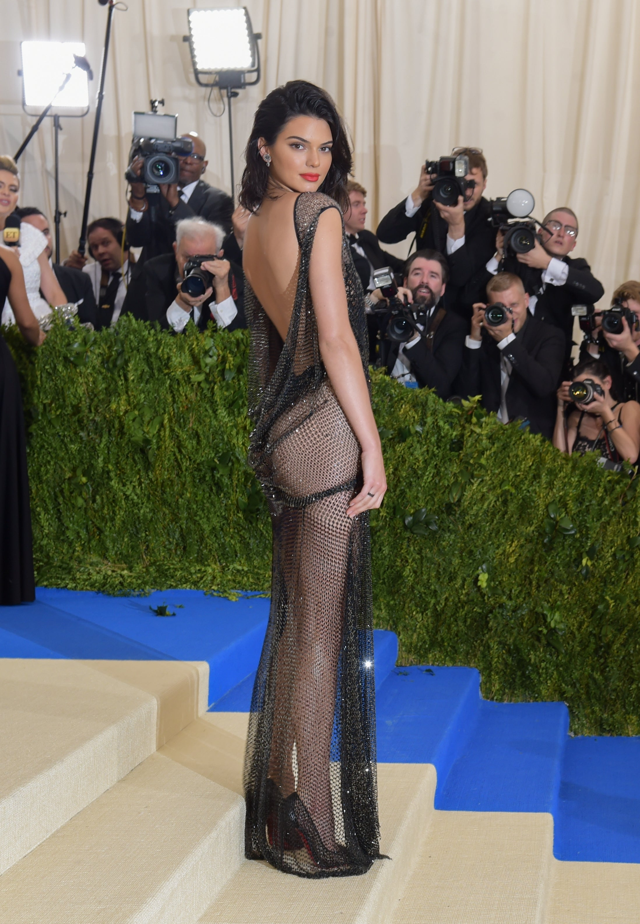 Kendall Jenner na Met Gala, 2017 Autor: J. Kempin/Getty Images
