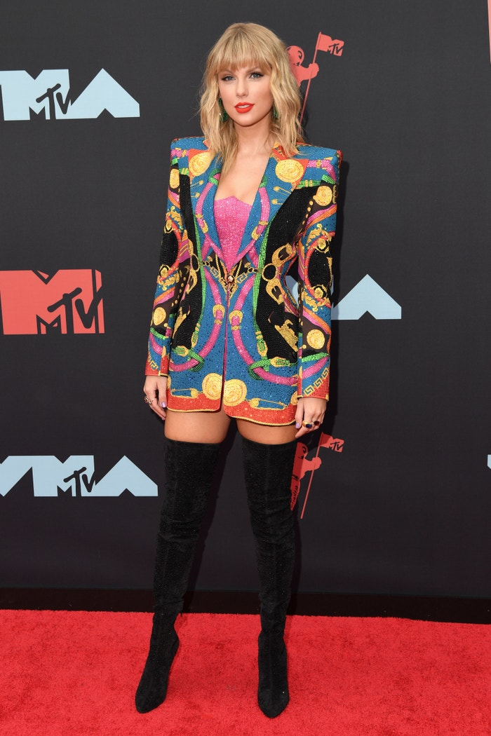 Taylor Swift na MTV Video Music Awards 2019 v šatech od Versace Autor: Getty Images