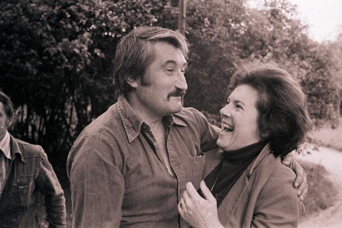 Pavel Landovský a Vlasta Chramostová, 1978 Autor: Profimedia