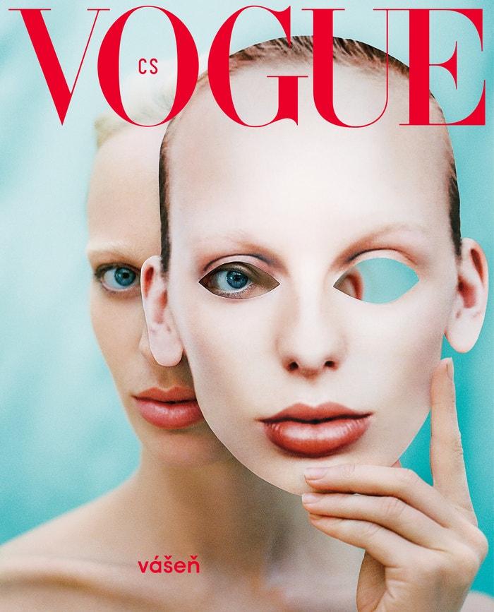 Vogue CS, číslo 3 - limitovaná obálka, listopad 2018 Autor: Dan Beleiu, Cover star: Lili Sumner