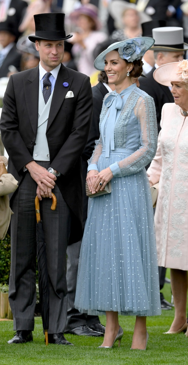 Princ William a jeho žena Catherine, vévodkyně z Cambridge v šatech Elie Saab Autor: Anwar Hussein/Getty Images