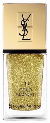 Lak na nehty v odstínu 110 Gold Magnet, YSL