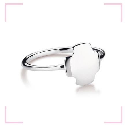 Stříbrný prsten Bouchon Ring dle návrhu designérky Anny Marešové z kolekce Champagne, MOOYYY, prodává MOOYYY, 1 700 Kč
