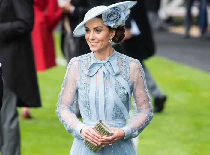 Catherine, vévodkyně z Cambridge v šatech Elie Saab Autor: Samir Hussein/Getty Images